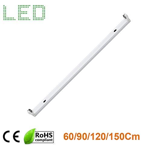 LED-Lichtleiste T8, 1500 mm / 150 cm, für Garagen, Abstellräume, Parkplätze, Regale (Led-parkplatz-beleuchtung)