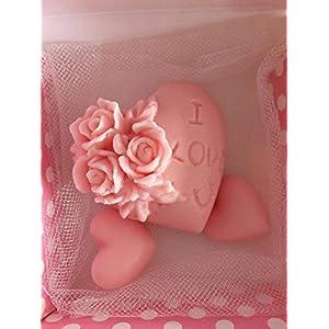 Gastgeschenke Hochzeit, Gastgeschenke Taufe, Seife, Duftseifen Dekoseifen für Verlobung Hochzeit Taufe Babyshower Gastgeschenke Giveaways Nikah Sekeri Kokulu Sabun