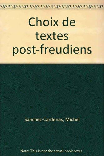 Choix de textes post-freudiens
