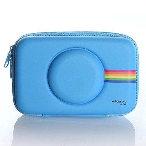 Polaroid - Custodia in acetato di vinile per fotocamera digitale istantanea con stampante Polaroid Snap (Blu)