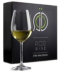 Idea Regalo - Set di Bicchieri da Vino Bianco - Calici in Cristallo di Titanio Senza Piombo, con Coppa da 355 ml. Calici da Vino Bianco a Stelo Lungo per una Ideale Esperienza di Degustazione - Perfetti per Complea