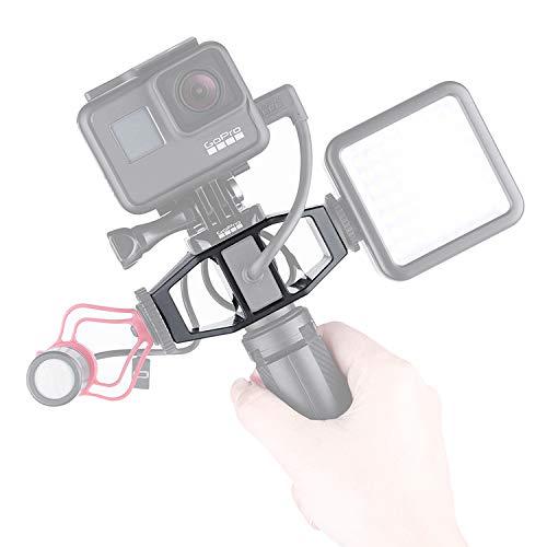 GP-1 GoPro Vlogging für Gopro Vlog Stativ Fotostativ Kamera Adapter Stativ Action Kamera Licht Aufnahmehalterung mit 1/4