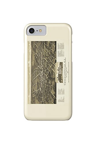 thomasville-georgia-panoramic-map-iphone-7-cell-phone-case-slim-barely-there