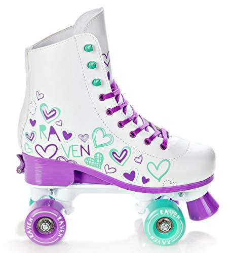 Raven Rollschuhe Roller Skates Trista verstellbar 2019 (39-42(24,5cm-26,5cm))