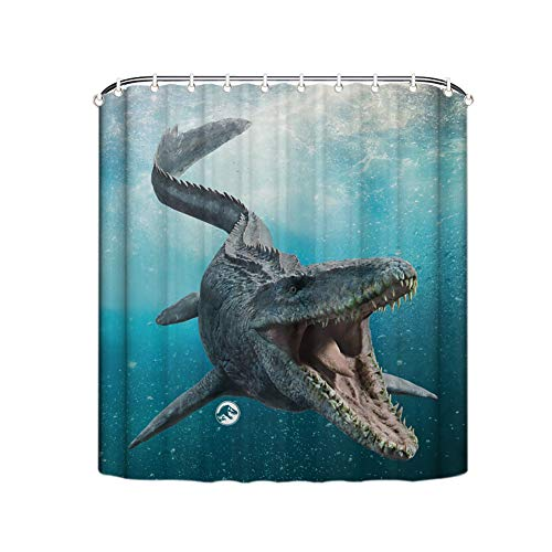 Muccum Jurassic World Mosasaurus Cortina Impermeable