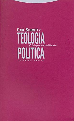 Teología política (Estructuras y Procesos. Derecho)