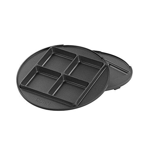 vonshef 3 in 1 waffle maker brownie doughnut maker. Black Bedroom Furniture Sets. Home Design Ideas
