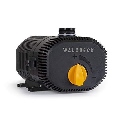 Waldbeck Nemesis T60 Bomba de agua - Bajo consumo, 60 W de potencia, Máx. 3,3 m de altura de extracción...