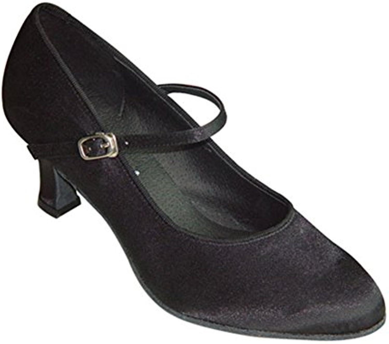 GUOSHIJITUAN Frauen Spitzen Zehe Latein TanzschuheLeise Unten Satin Dancing Schuhe High Heels Tango Salsa Sozialeö