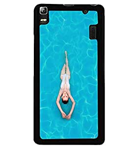 PRINTVISA Sports Swimming Case Cover for Lenovo A7000