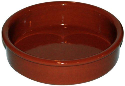 Amazing Cookware Natural Terracotta 13cm Round Dish