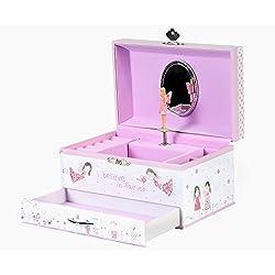 Fairy Blossom Musical Jewellery Box