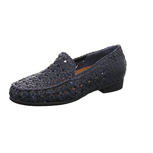 ara  Boston, Mocassins (loafers) femme Bleu