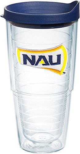Tervis Northern Arizona Nao Box Emblem Individual Tumbler with Lid, 24 oz, Clear by Tervis -