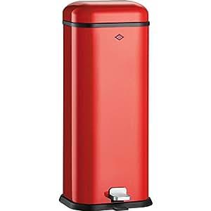 Wesco 132 superboy 312–02 poubelle à vapeur-rouge