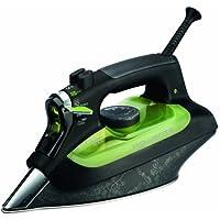 Rowenta DW6010D1 Eco Intelligence - Plancha de vapor (2400 W, 30% ahorro energía, suela microsteam 3D laser con punta de precisión, vapor continuo 40 g/min)