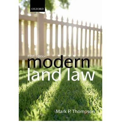 [ MODERN LAND LAW BY THOMPSON, MARK P.](AUTHOR)PAPERBACK