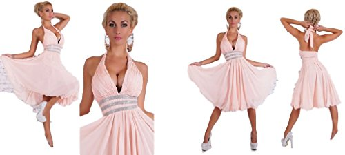 IL BAZAR Damen Kleid Rosa