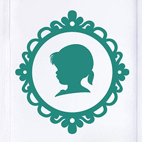 Baby Profile In Frame Door Room Wall Sticker