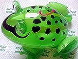 EXOH divertido juguete hinchable para niños con diseño de rana