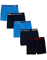 Rupa Jon Boys' Cotton Brief (Pack of 5) (Colors May Vary)