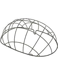 Basil für x for - Cesta para bicicletas, color negro, talla 50cm