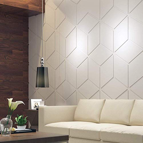 HomeArtDecor | Marokkanisches Dekor | Dekorative Wandpaneele | 3D Fliesen | Hochwertiges Polyvinylchlorid | Büro Dekoration | Dekoration | Einfach anzuwenden | Laubsägearbeit | Gitter -