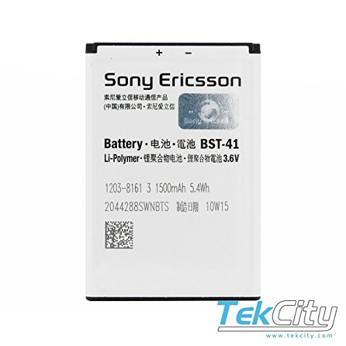 Just Mobile Sony Ericsson Battery BST41 BST-41 For xperia x1 x2 x10 1500Mah