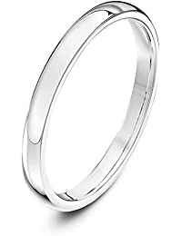 Theia Unisex 9 ct Yellow or White Gold, Super Heavy Court Shape, Polished, 2-9 mm Wedding Ring