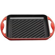 Le Creuset - Parrilla grill cuadrada de hierro fundido