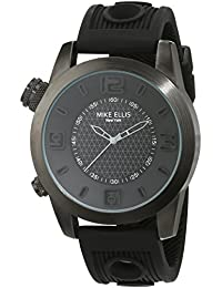 Mike Ellis New York Herren-Armbanduhr XL an:e Analog Quarz Silikon SL4315/2
