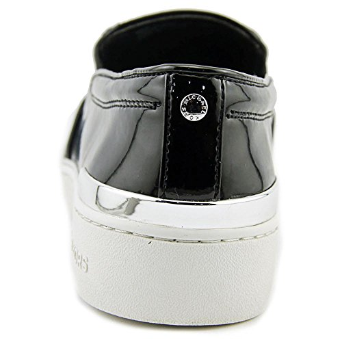 Kyle Nero Silver Slip Donna KORS Sneakers Pelle Suede MICHAEL Nuove Black Scarpe Black On cWBgpFFq