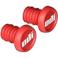 ODI, Tappi per manubrio bici Bar BMX, Rosso (Rot), Taglia unica