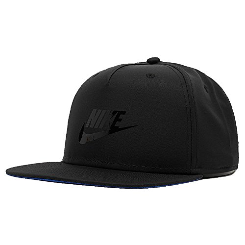 Nike Pro Blue Label AV15 Snapback Cap (one size, black/black)