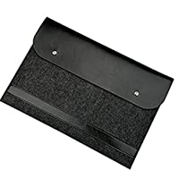 Oudan 11-15 Inch of Felt Cover Portable Computer Sleeve Laptop Bag black black 13寸