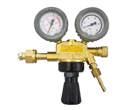 Druckminderer Argon Schutzgas Schweiß Gas Druckregler Manometer Harris