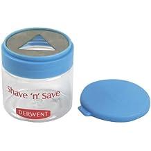 Derwent Shave 'n' Save - Afilador para barras con recipiente