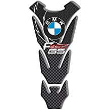 """Motoking tanque pad compatible """"BMW GS -carbón F 650 """" - tanque de la motocicleta y la protección de la pintura universal"""