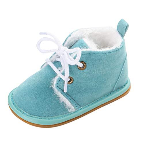 LILIGOD Neugeborenes Baby Warme Stiefel Winter Boots Mädchen Jungen Plus Samt Stiefeletten Bequem rutschfest Babyschuhe Kleinkindschuhe Erste Wanderer Weiche Sohle Schuhe Turnschuhe