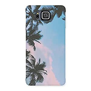 Neo World Sky Tint Back Case Cover for Galaxy Alpha