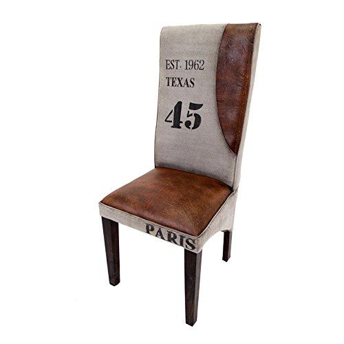 Indhouse–Stuhl Textil und Leder Texas