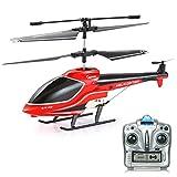 GoStock RC Hubschrauber 3.5 Kanal Fernbedienung Hubschrauber Indoor Outdoor Anti-Kollision Mini Remote Hubschrauber Spielzeug Geschenk mit Gyro und LED-Licht für Jungen Kinder & Erwachsene
