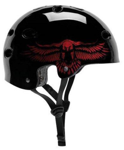 ProTec Helm B2 C. Hawk, schwarz, 55-56cm, 250800521 (Protec B2 Gloss)