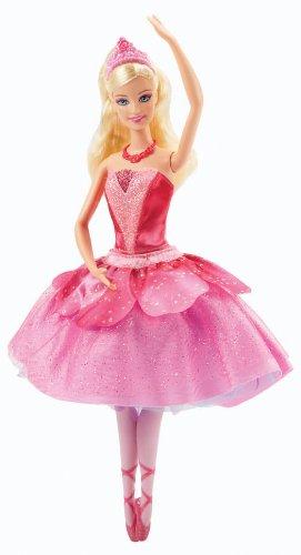 Mattel Barbie X8810 - Die verzauberten Ballettschuhe, Prima-Ballerina Kristyn Farraday, Puppe zum Film