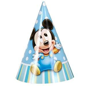 Hallmark 201215 Disney Mickey 1er anniversaire Cone Chapeaux