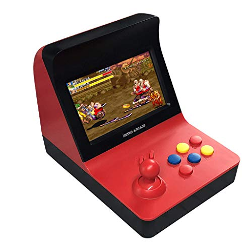 Mini 4,5 Zoll Arcade Spiel Retro Maschinen für Kinder mit 3000 klassischen Videospielen - Eingebaute SEGA Classic Retro Nostalgische Mini Karte Hand Spiel Konsole Kinder Jungen Geschenke (Blau)