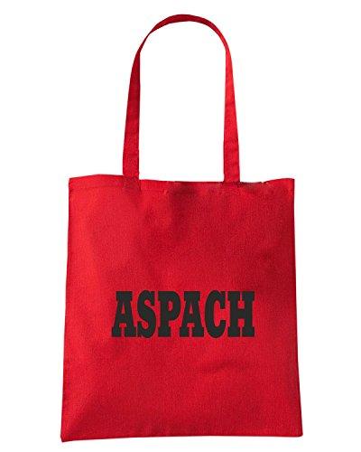 T-Shirtshock - Borsa Shopping WC0802 ASPACH GERMANY CITY Rosso