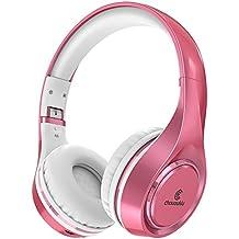 Auriculares Bluetooth en la Oreja, Chououkiu Auriculares Inalámbricos Auriculares Estéreo de Alta Fidelidad Plegable con