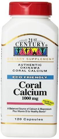 Coral Calcium, 1000 mg, 120 Capsules