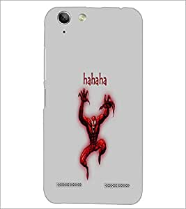 PrintDhaba Funny Image D-4195 Back Case Cover for LENOVO A6020a46 (Multi-Coloured)